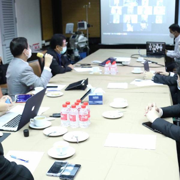 ศูนย์ร่วมใจสู้ภัยโควิด-19 พรรคเพื่อไทย ประชุมผ่านวิดีโอคอนเฟอร์เรนซ์ ร่วมกับ ส.ส. ติดตามสถานการณ์การระบาดทุกพื้นที่